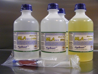 MLA 4-Part concentrate   - 4 x 1 litre Bottles + Syringe (Gamma Irradiated)